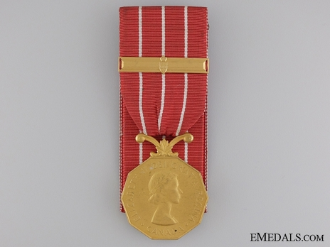 Medal (with 1 clasp, 1954-) Obverse