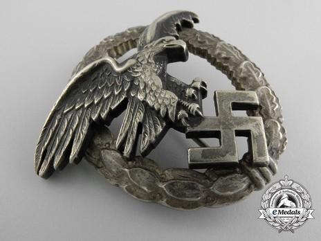 Observer Badge, by Assmann (in nickel silver) Obverse