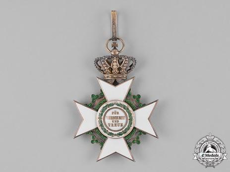 Order of Merit, Type II, Civil Division, I Class Commander (1891-1918, in silver gilt) Reverse