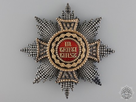Grand Cross Breast Star (Silver/Gold by Eduard Quellhorst) Obverse