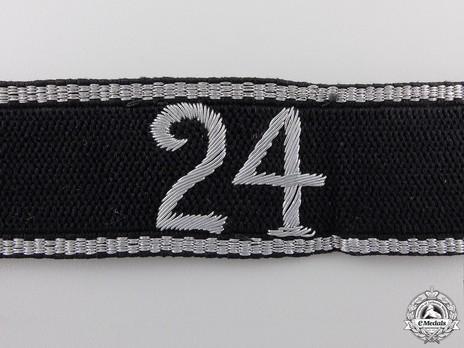Allgemeine SS 24th Standarte Cuff Title Obverse