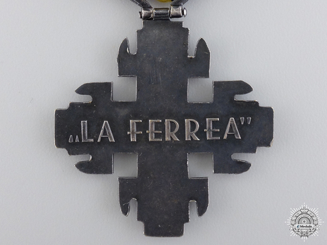 Silver Cross (with silvered tombac) Reverse