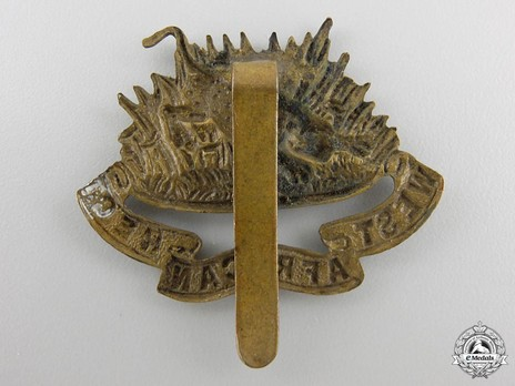 West African Regiment Cap Badge Reverse