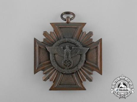 NSDAP Long Service Award, III Class Obverse