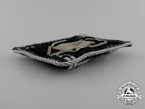 Allgemeine SS Obersturmbannführer Collar Tabs Reverse