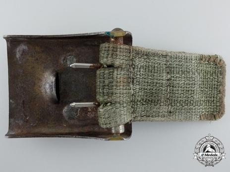 Kriegsmarine NCO/EM Belt Strap (Fabric version) Reverse