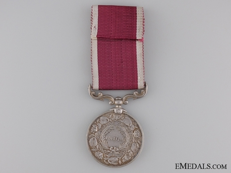 Silver Medal (with King George VI effigy) Reverse