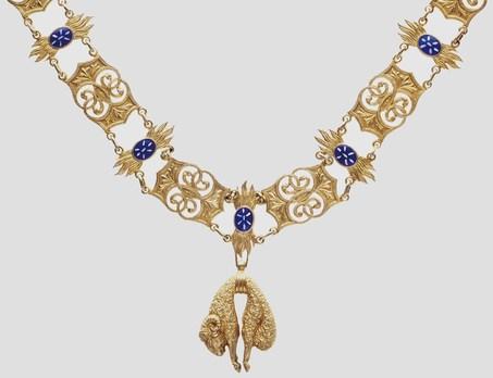 Grand Collar (Silver gilt) Obverse
