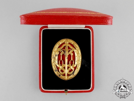 Breast Badge (1933-) Obverse in Case of Issue
