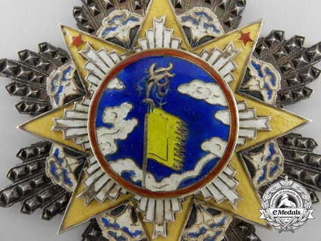 Order of the Cloud and Banner, VIII Class Knight Obverse Detail