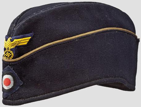 Kriegsmarine Blue Officer Ranks Board Cap Profile