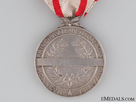 I Class Medal (for 30 Years, 1924-2007) Reverse