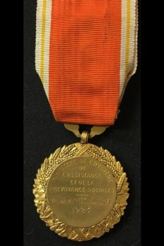 "Hygiene Medal, Gold Medal (stamped ""O.ROTY"") Reverse"