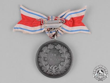 Alice Medal in Silver Reverse