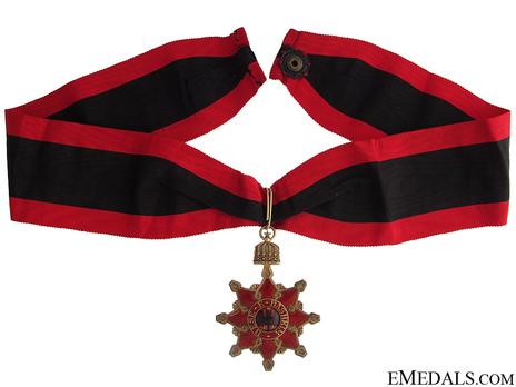 Order of the Black Eagle, Commander's Cross Obverse