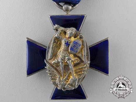 Royal Order of Merit of St. Michael, IV Class Cross Obverse