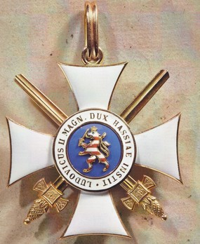 II Class Knight's Cross with Swords Obverse