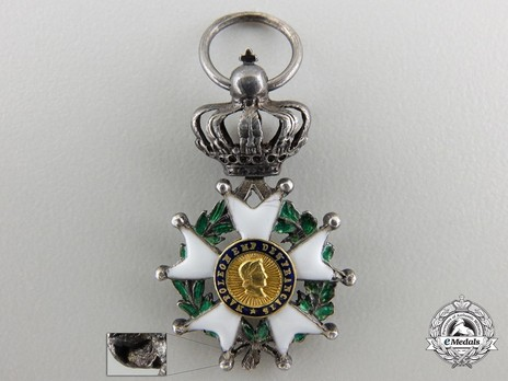 Miniature Knight (Silver and Silver gilt) Obverse