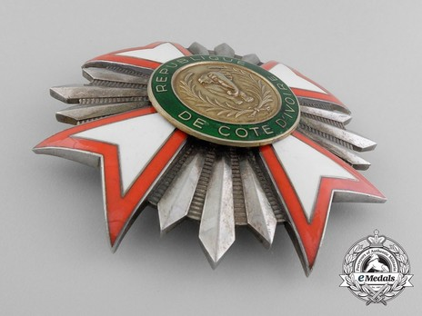 National Order of Côte d'Ivoire, Grand Cross Breast Star Obverse