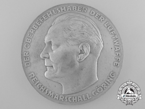 Medal for Outstanding Technical Achievements (in silvered zinc) Obverse