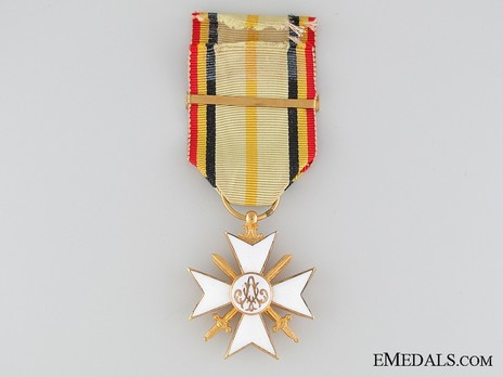 """I Class Cross (with """"1914-1918"""" clasp) Reverse"""