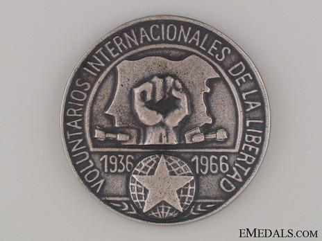 Spanish Civil War Commemorative Medal Obverse