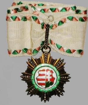 Order of Kossuth, II Class Obverse
