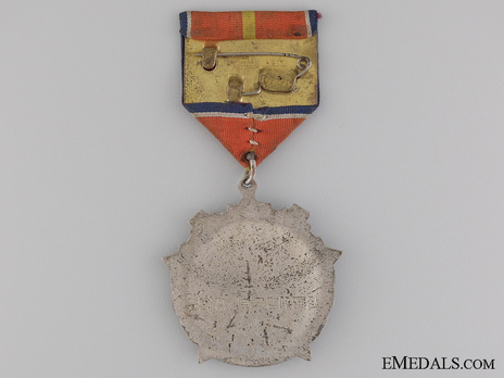 Order of Military Engineering Service Honour, for 30 Years Reverse