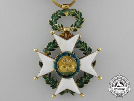 II Class Gold Cross Reverse