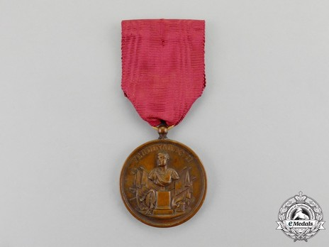 Military Long Service Medal, in Bronze Obverse