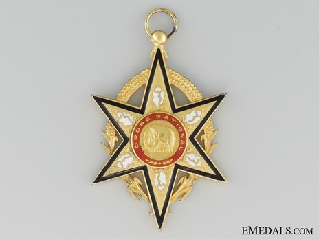 National Order of Upper Volta, Grand Cross Obverse
