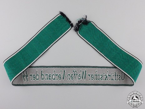 Waffen-SS Osttürkischer Waffen-Verband der SS Cuff Title Reverse