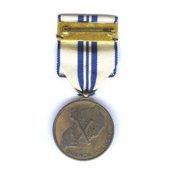 Police Jubilee Medal Reverse