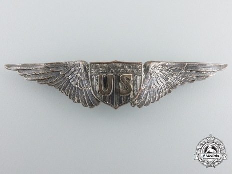 Pilot Wings (with silvered bronze) Obverse