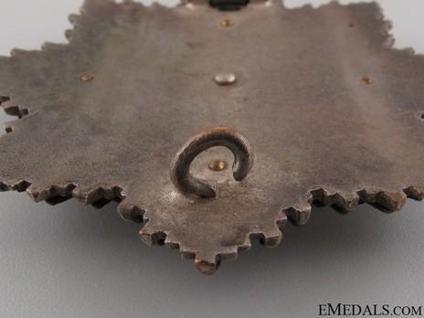 """German Cross, in Gold, by C. E. Juncker (Model 2, """"2"""", tombac) Detail"""