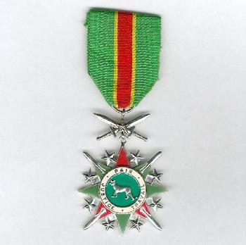 National Order of the Leopard, Military Division, Knight (1966-1977, 1997-) Obverse