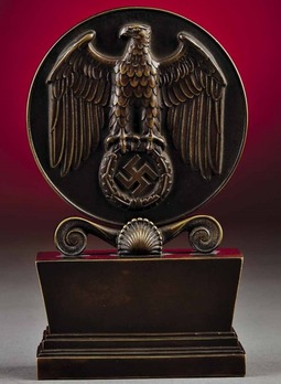 Eagle Shield of the German Reich (to Alfred Hugenberg) Obverse
