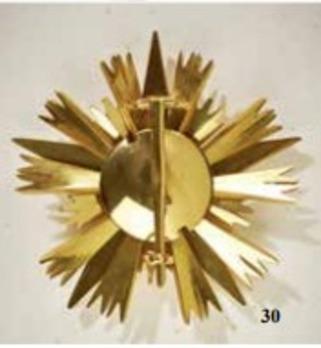 Bulgaria, Order of Stara Planina, Grand Cross, Breast Star, Rev, Andreas Thies