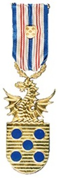 I Class Medal (with national crest clasp) Obverse
