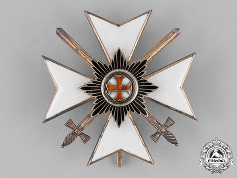Order of Merit, Military Division, Officer's Cross (with swords, 1914-1918)