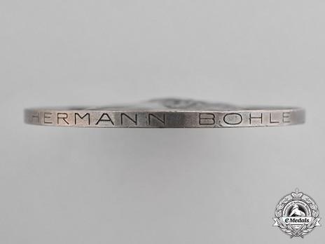 Goethe Medal for Art and Science (2nd pattern) Rim Detail