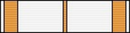 I Class Medal (for Music, 2000-) Ribbon