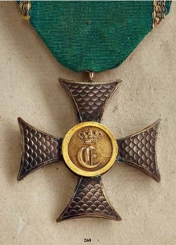 Military Long Service Decoration, Cross for 25 Years (1846-1867)