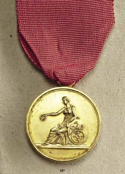 Merit Medal in Gold
