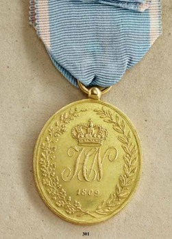 Military Honour Medal, Type II, in Gold