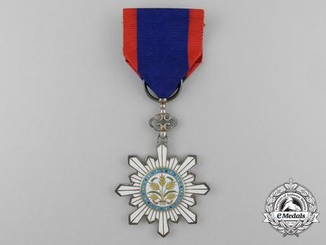Order of the Golden Grain, V Class Officer Obverse