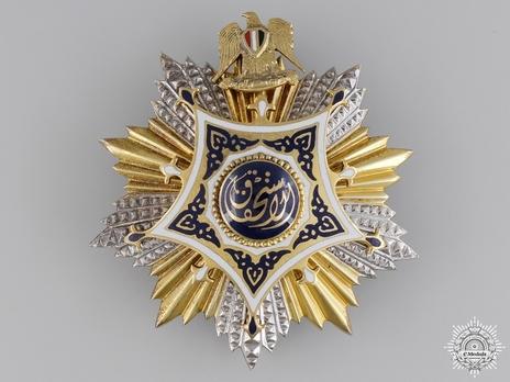 Order of Merit, Type I, Grand Cordon Breast Star
