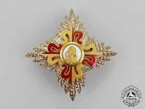 Order of Saint Rita of Cascia, Grand Cross Obverse