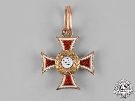 Order of Leopold, Type II, Knight Reverse