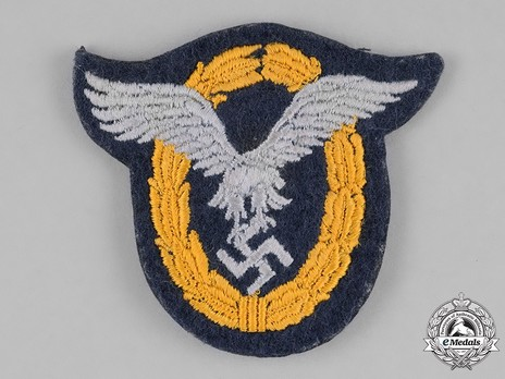 Combined Pilot/Observer Badge (2nd Model), in Cloth Obverse